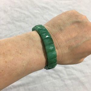 Jewelry - Aventurine Faceted Bracelet - rectangle beads